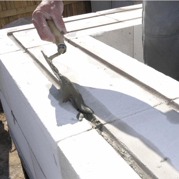 Армирование кладки из газобетонных блоков