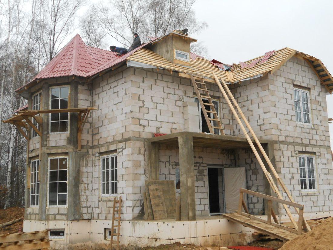 Построить дом из пеноблоков своими руками цена