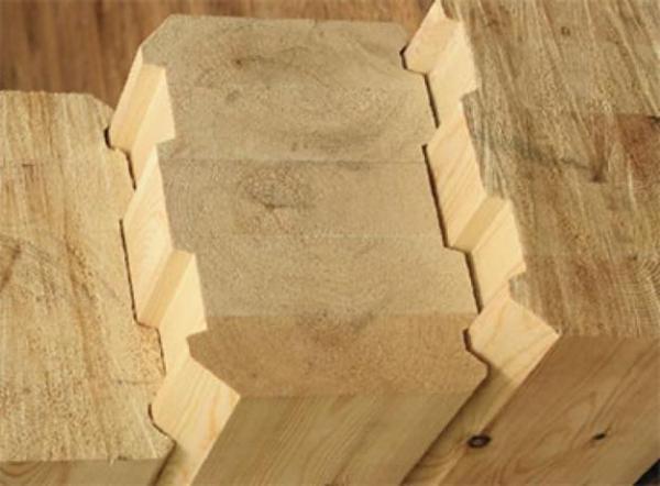 Профилированный брус особенно удобен для строительства