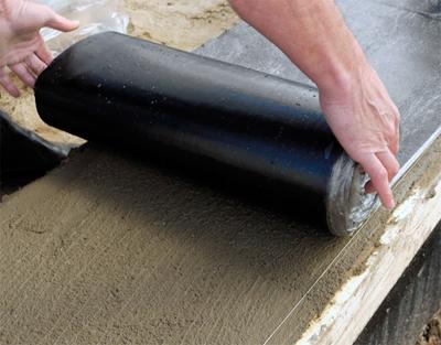 Гидроизоляция фундамента под стены из пеноблоков