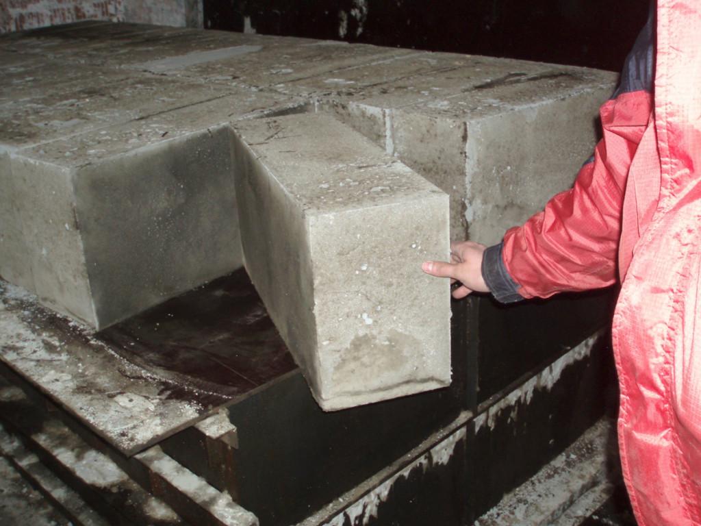 Армированные пеноблоки, применяемые в строительстве.
