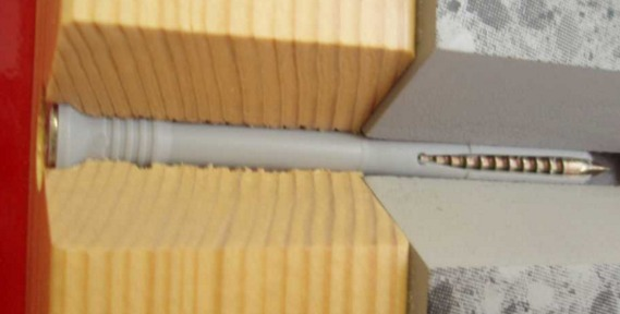 Дюбель-гвоздь накрепко присоединяет к пенобетону различные материалы.
