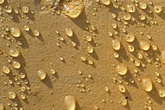 Гидрофобизаторы лишают пенобетон способности капиллярно всасывать влагу, она просто стекает по поверхности.