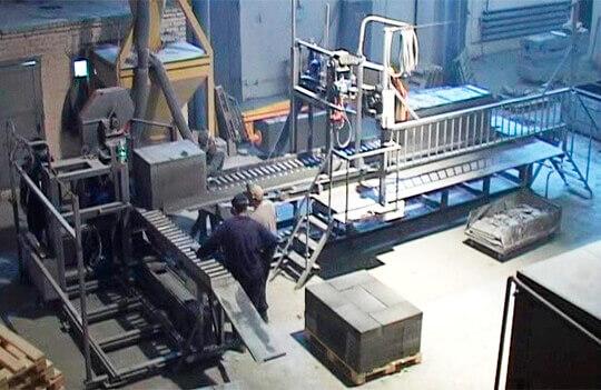 Производство пеноблоков