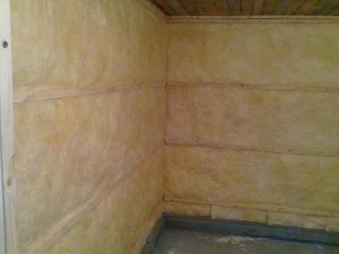 Дополнительная звукоизоляция стен.