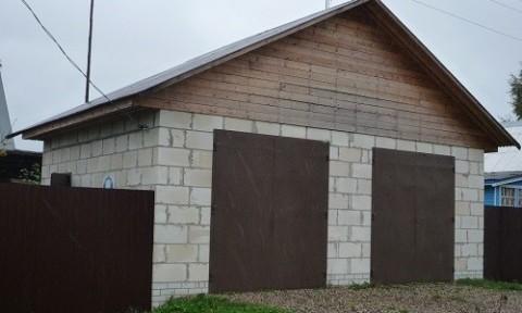 Конструкционно-теплоизоляционные пеноблоки применяют для возведения небольших построек.