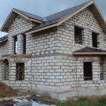 Готовый дом из пеноблока