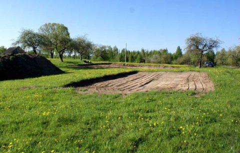 Как построить дом из пеноблока самому: снятие плодородного слоя грунта с пятна застройки