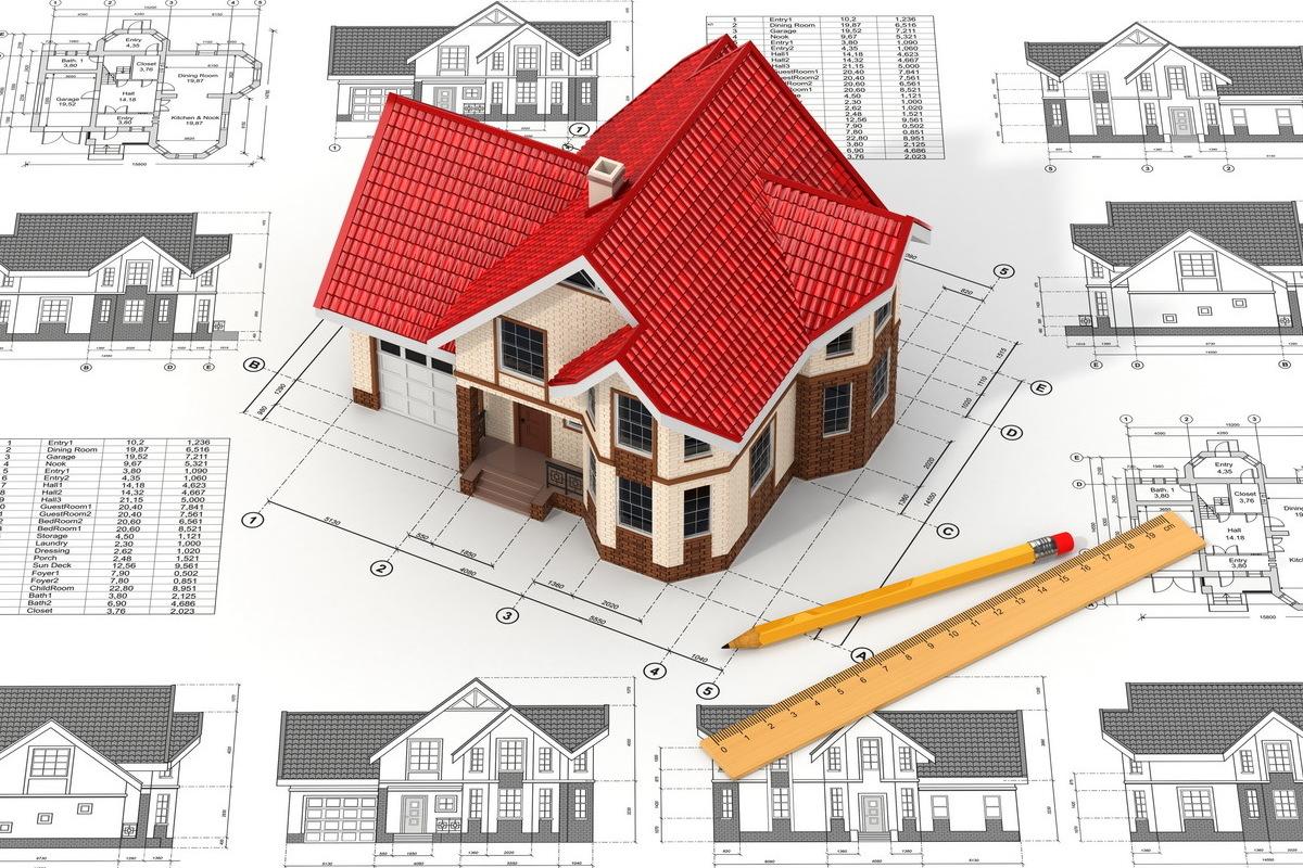 Чертежи проектов домов