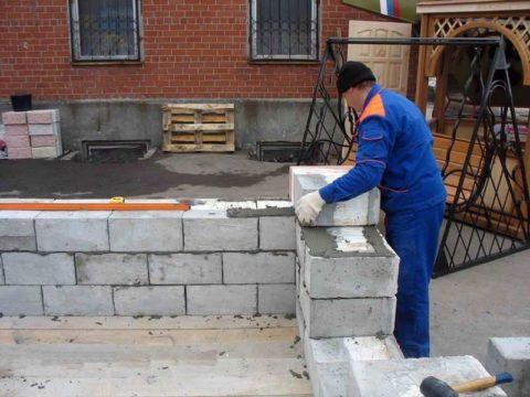 Применение конструкционно-теплоизоляционных изделий