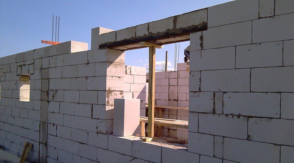 Как сделать окна в доме из газобетона 528
