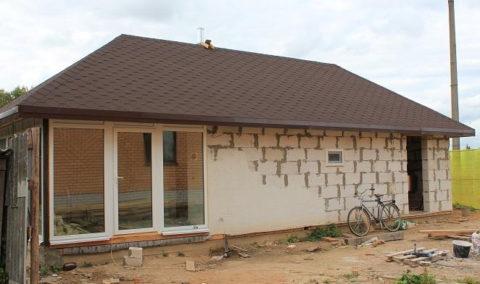 Строительство малоэтажное: возведение стен, межкомнатных перегородок