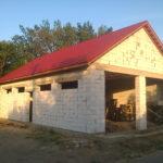Почти готовый гараж