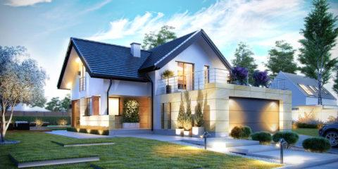 Практично, надежно и очень красиво – строим дом из пенобетона