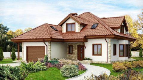 Простые одноэтажные дома из ячеистых бетонов – рациональное решение