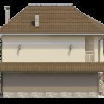 Фасад – вид слева