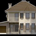 Фасад – вид спереди