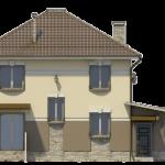 Фасад – вид сзади