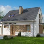 Как пристроить гараж к дому из пеноблоков – в таком варианте очень просто!