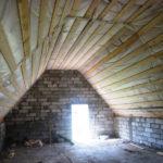 Мансарда требует серьезного утепления крыши