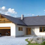 Проекты домов из пеноблоков с гаражом – насколько удачно такое решение?