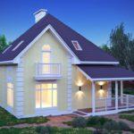 Какой дом из пеноблоков с мансардой самый удобный, практичный и красивый?