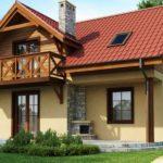 Удобный загородный домик