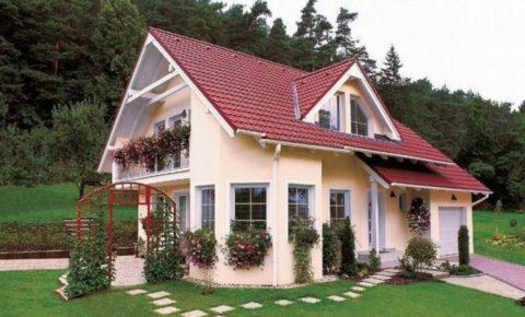 Компактный и красивый дачный домик
