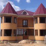 Сложная форма зданий из мелкоразмерных элементов