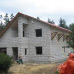 Балкон из пеноблоков в новом доме