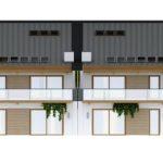 Фасад дома – вид спереди