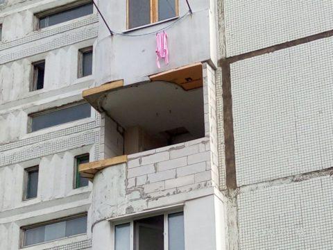 Реконструкция балкона в жилом доме