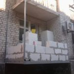 Реконструкция старого балкона