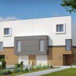 Современный дизайн дома из пеноблоков