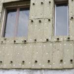 Крепление теплоизоляции на стенах из ячеистого бетона