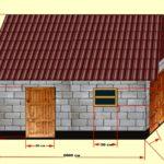 Основные размеры дома