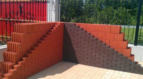 Сочетание керамического блока с лицевым кирпичом – идеальный способ получить тёплые и красивые стены дома