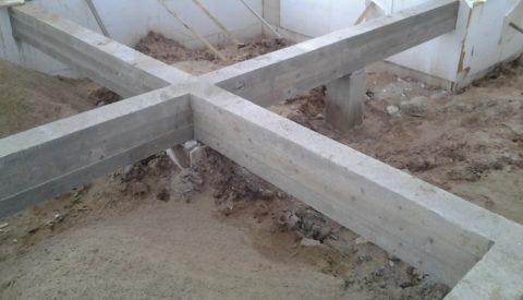 Возможно условия местности таковы, что понадобится свайный фундамент или столбчатый