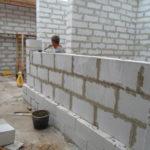 Частное строительство из пеноблоков