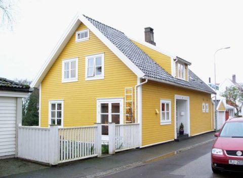 Частный дом с вентилируемым фасадом