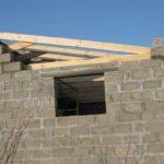 Двухскатная крыша без фронтона