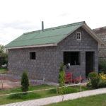 Двухскатная щипцовая крыша