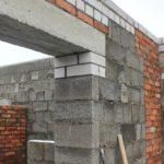 Кладка наружных и внутренних стен из керамзитных блоков