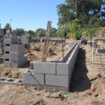 Неофактуренные блоки из мелкозернистого бетона