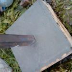 Заливка бетона в шурф