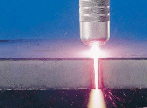 Резка бетона лазером
