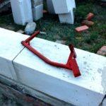 Ручной штроборез для ячеистого бетона