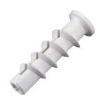 Спиральный дюбель из пластика для пеноблоков
