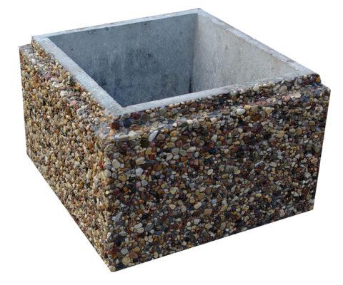 Блок для столбов из мелкозернистого бетона