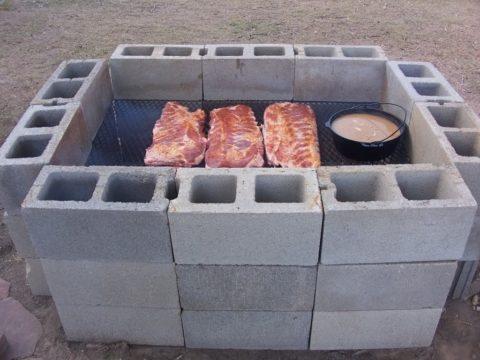 Печка барбекю – просто и недорого